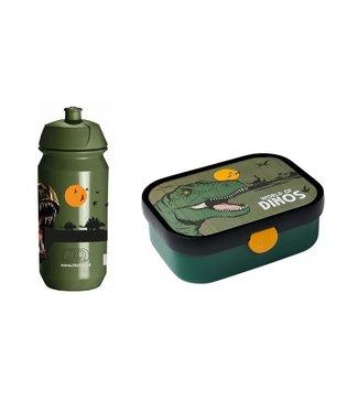 Dino Mepal Lunchbox en JQ Bidon 500ML