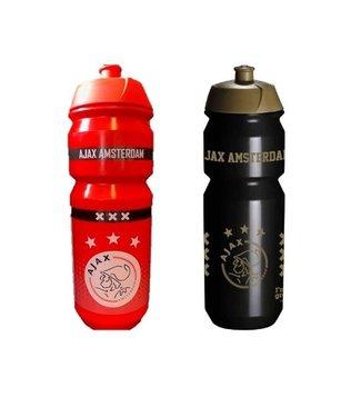 Ajax Bidon Voordeelset Rood en Zwart 2 Stuks 750ML