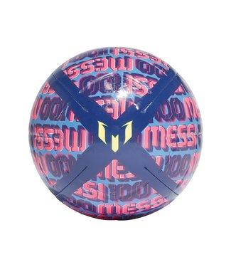 Messi Voetbal Roze/Blauw Maat 5 opgepompt