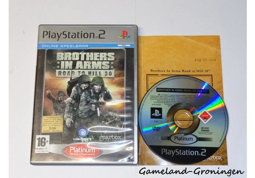 Brothers in Arms Road to Hill 30 (Compleet, Platinum)