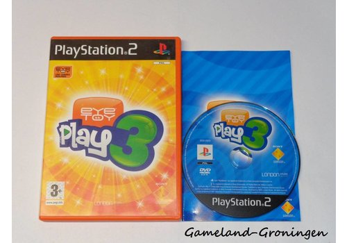 Eye Toy Play 3 (Complete)