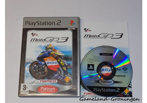 MotoGP 3 (Compleet, Platinum)