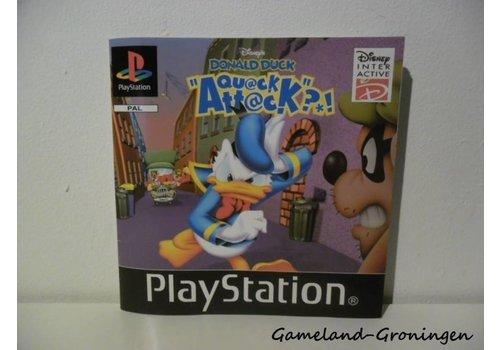 Disney`s Donald Duck Quack Attack (Manual)