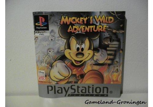 Mickey's Wild Adventure (Manual, Platinum)