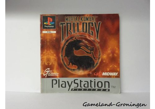 Mortal Kombat Trilogy (Manual, Platinum)