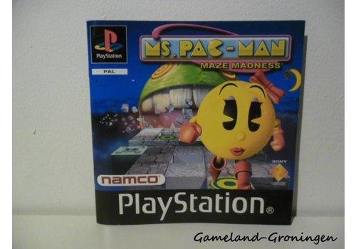 Ms. Pac-Man Maze Madness (Manual)