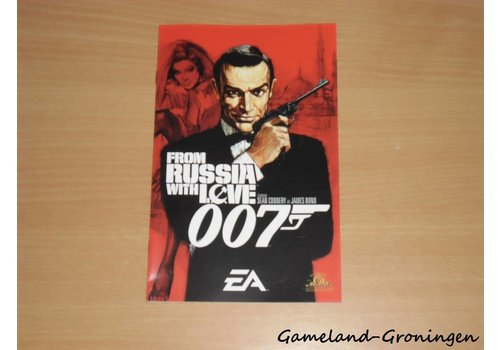 James Bond 007 From Russia With Love (Handleiding)