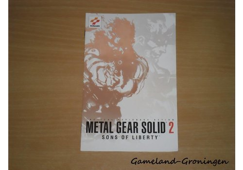 Metal Gear Solid 2 Sons of Liberty (Handleiding)
