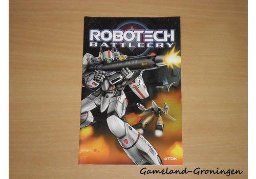 Robotech Battlecry (Handleiding)