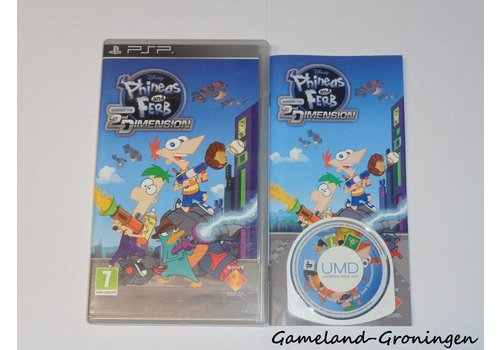 Phineas and Ferb Across the 2nd Dimension (Compleet)