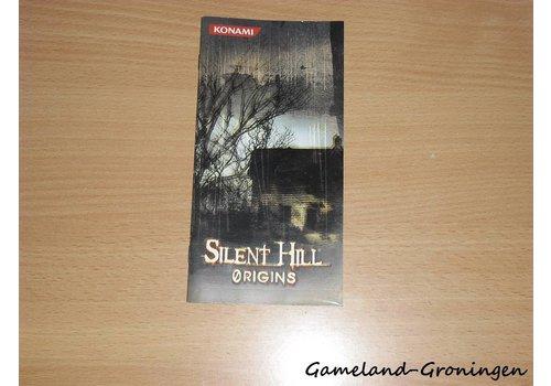 Silent Hill Origins (Handleiding)