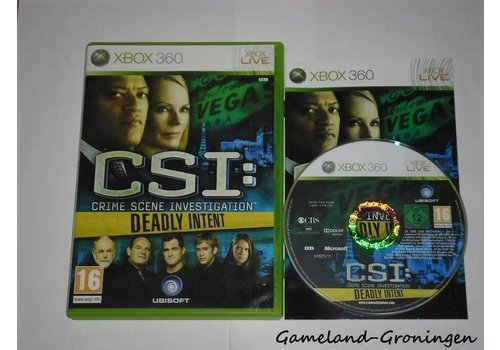 CSI Deadly Intent (Complete)
