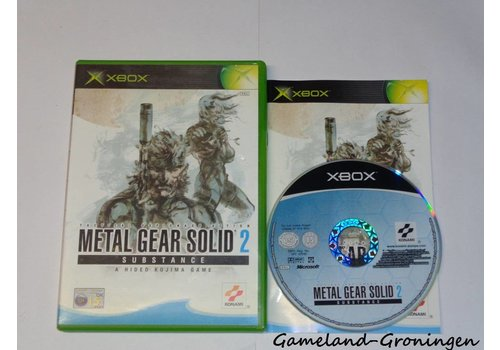 Metal Gear Solid 2 Substance (Compleet)