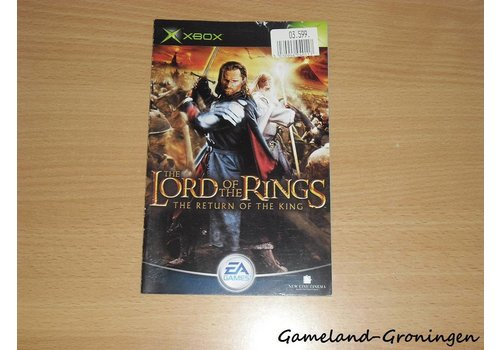The Lord of the Rings Return of the King (Manual)
