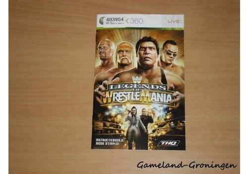 WWE Legends of Wrestlemania (Manual)