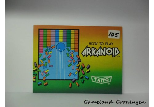 Arkanoid (Manual, USA)