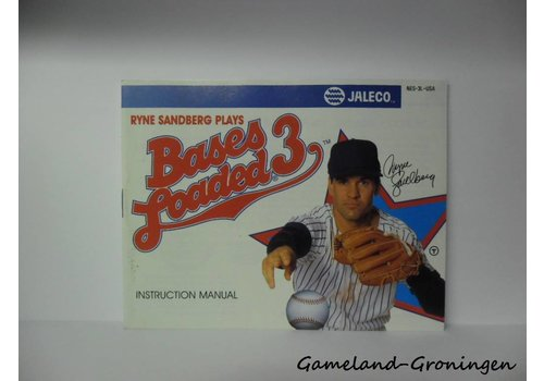 Bases Loaded 3 (Handleiding, USA)