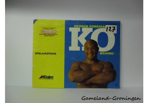 George Foreman's KO Boxing (Manual, NOE)