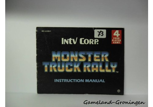 Monster Truck Rally (Handleiding, USA)