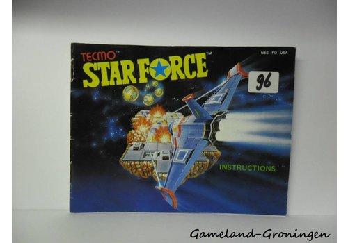 Star Force (Handleiding, USA)