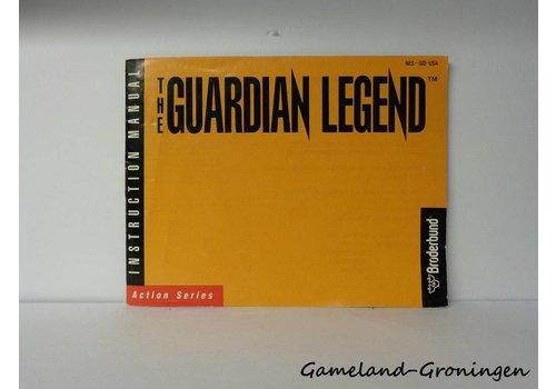 The Guardian Legend (Handleiding, USA)