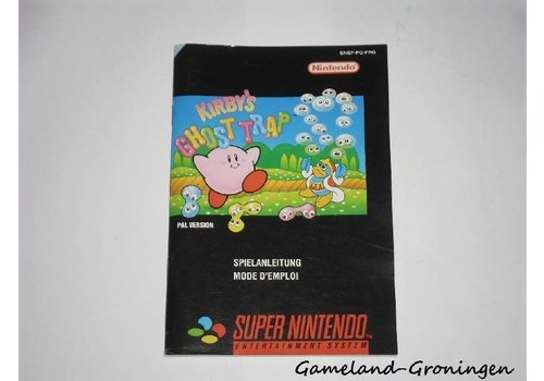 Kirby's Ghost Trap (Manual, FRG)