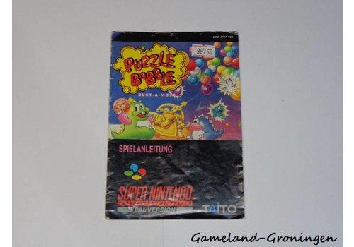 Puzzle Bobble Bust-A-Move (Handleiding, NOE)