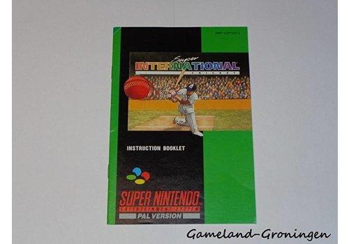 Super International Cricket (Handleiding, UKV)