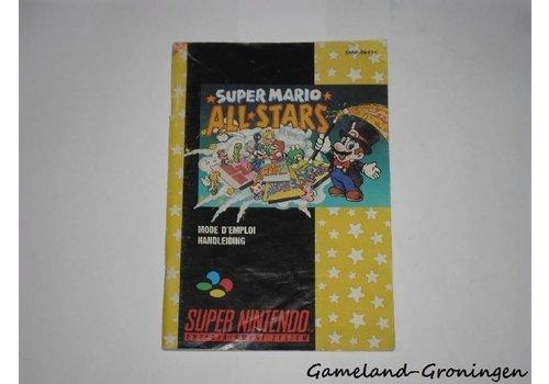 Super Mario All Stars (Handleiding, FAH)