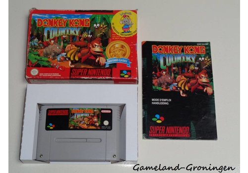 Donkey Kong Country (Compleet, Classics, NFAH)