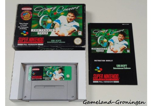 Jimmy Connors Pro Tennis Tour (Complete, UKV)