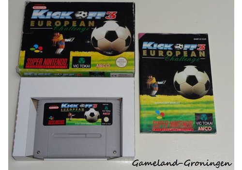 Kick Off 3 European Challenge (Compleet, EUR)
