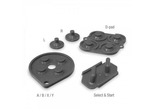 SNES Replacement Controller Silicone Pads