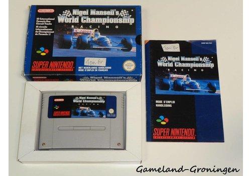 Nigel Mansell's World Championship Racing (Complete, FAH)