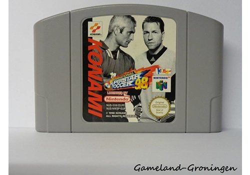 International Superstar Soccer 98 (EUR)