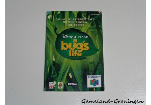 Disney's A Bug's Life (Manual, EUR)