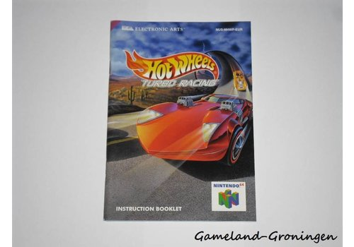 Hot Wheels Turbo Racing (Handleiding, EUR)