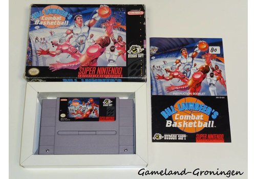 Bill Laimbeer's Combat Basketball (Complete, NTSC / USA)