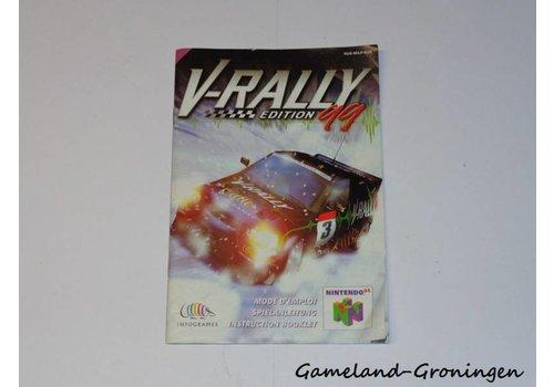 V-Rally Edition 99 (Manual, EUR)