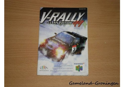 V-Rally Edition 99 (Manual. EUU)