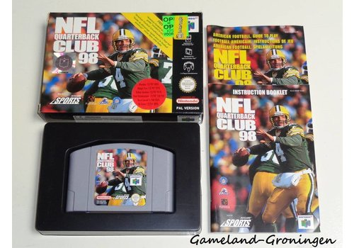 NFL Quarterback Club 98 (Complete, EUR)