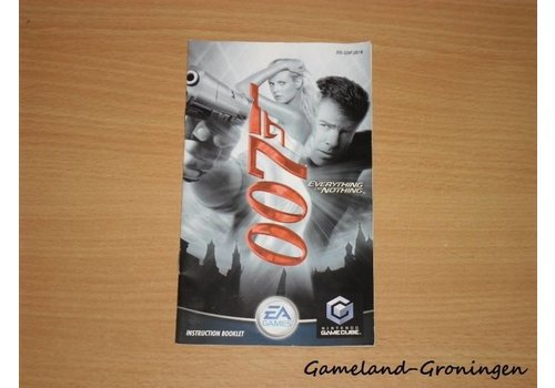 James Bond 007 Everything or Nothing (Handleiding)