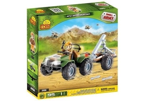 Cobi - Small Army ATV with Mortar