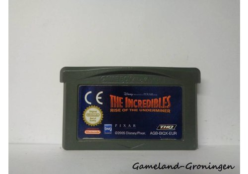 Disney's The Incredibles Rise of the Underminer (EUR)