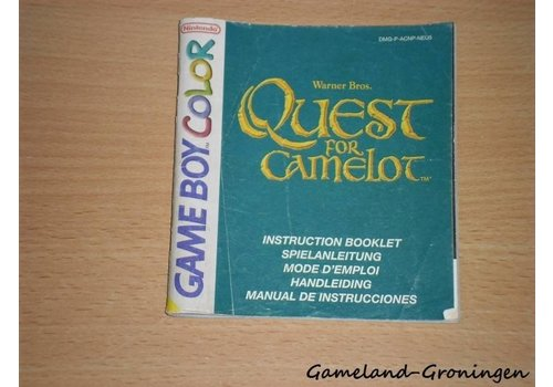 Quest for Camelot (Manual, NEU5)