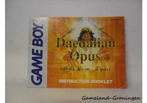 Daedalian Opus (Manual, USA)