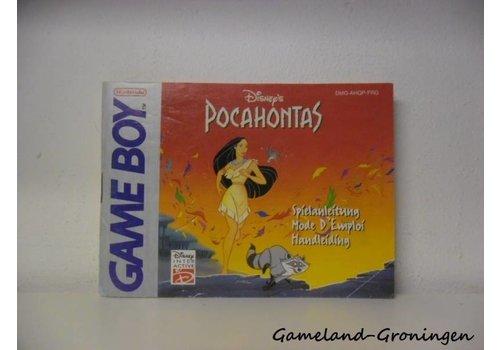 Disney's Pocahontas (Handleiding, FRG)