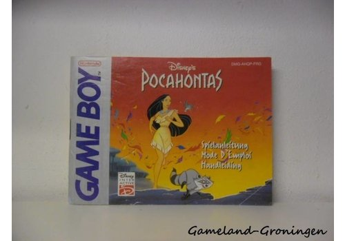 Disney's Pocahontas (Manual, FRG)