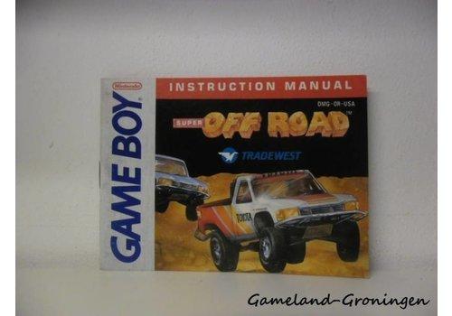 Super Off Road (Handleiding, USA)