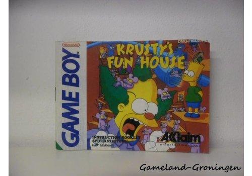 Krusty's Fun House (Handleiding, UKV)